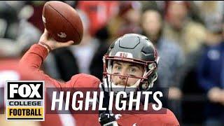 Washington State vs Stanford | Highlights | FOX COLLEGE FOOTBALL