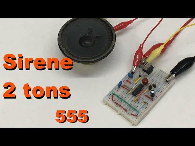 SIRENE BITONAL 555 | Conheça Eletrônica! #090