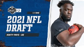 Kwity Paye on Getting Drafted by the Colts | 1-on-1