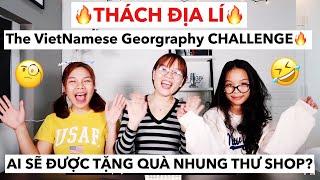 THÁCH MÔN ĐỊA LÍ/ VietNamese Geography CHALLENGE🔥- LỚP HỌC BỰA BỰA👹[English Sub.]