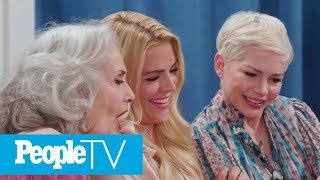 Katie Holmes & Michelle Williams React To 'Dawson Crying' Meme | PeopleTV | Entertainment Weekly