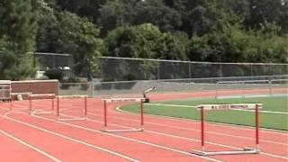 Hurdle Training - Need for Speed (3 Step Hurdling)