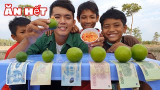 Sang Vlog -Thử Thách Ăn Chanh Nhận Tiền Thưởng