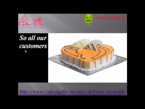 Online Cake Delivery Service in Noida via CakenGifts.in