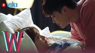 W - EP 7 | Lee Jong Suk & Han Hyo Joo Cuddling in Bed