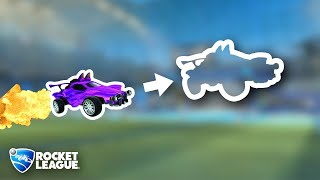 I made Rocket League players INVISIBLE (but didn't tell them)