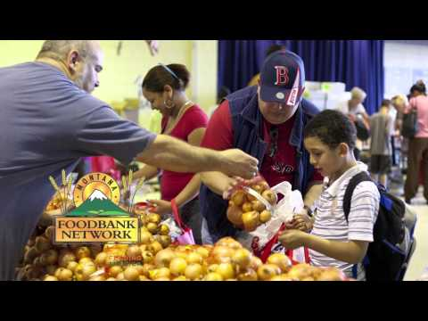 Montana Food Bank Network PSA with Sam Schultz