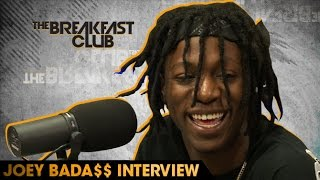 Joey      Bada$$ Interview With The Breakfast Club