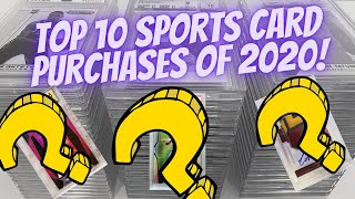 Top 10 Sports Card Purchases of 2020! 30 000$+ Profit