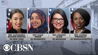 Reps. Omar, Ocasio-Cortez, Pressley and Tlaib respond to Trump's racist tweets, live stream