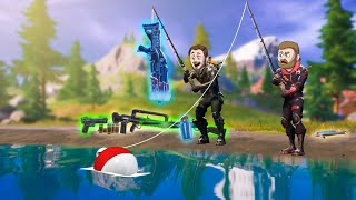 Using ONLY Fishing Loot To Win! | Fortnite