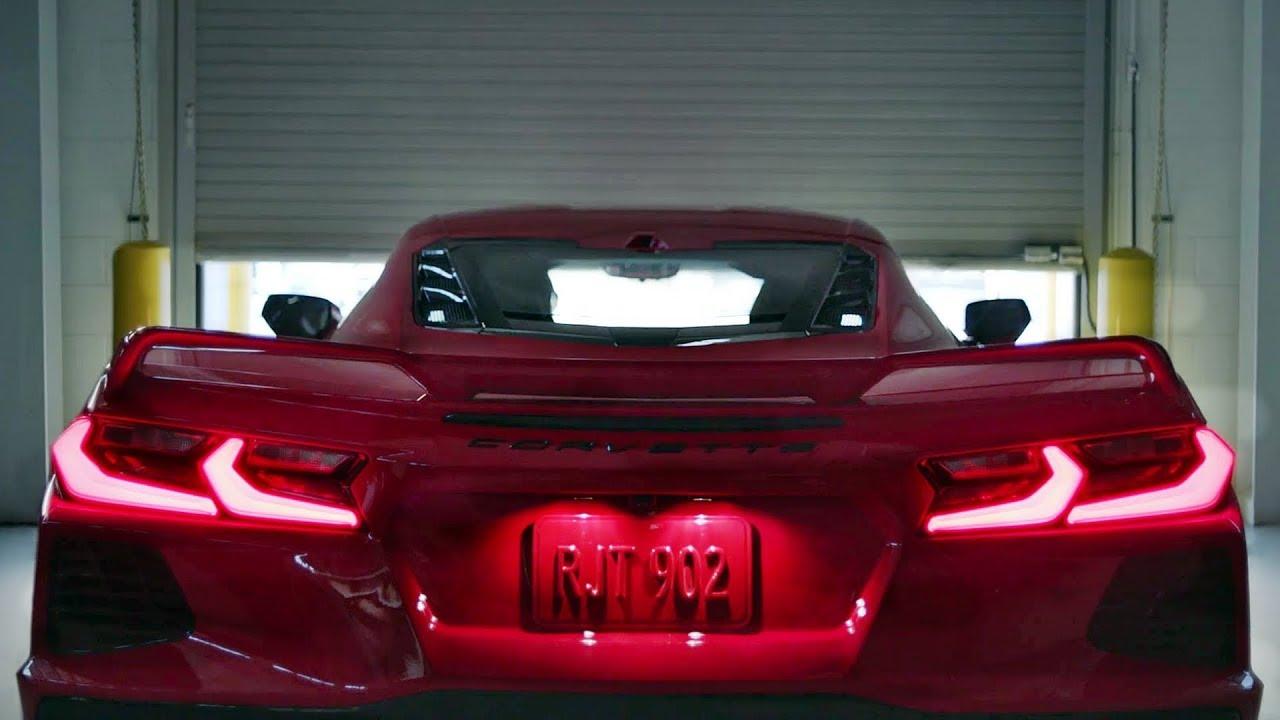 2020 Chevy Corvette C8 Super Sport Car
