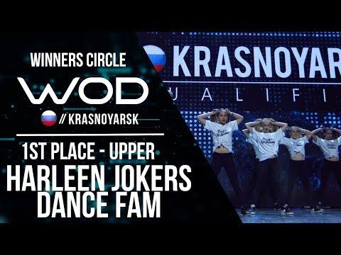 HARLEEN JOKER'S DANCE FAM | 1st Place | Winner Circle | WOD Krasnoyarsk | #WODKRSK17
