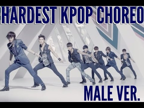 [TOP 65] HARDEST/MOST DIFFICULT KPOP CHOREOGRAPHY/DANCES (MALE VER.)