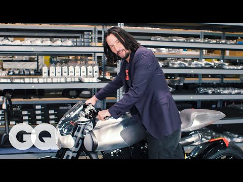 Keanu Reeves Shows Us His Most Prized Motorcycles   Collected   GQ