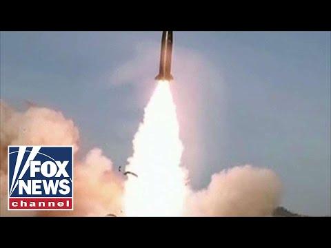 North Korea test fires short-range missiles