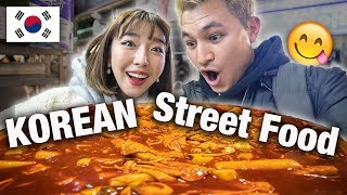 INSANE KOREAN STREET FOOD NIGHT MARKET TOUR!   Busan, Korea Vlog