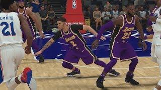 NBA 2K19 My Career EP 61 - Final LeBron Lakers Matchup!