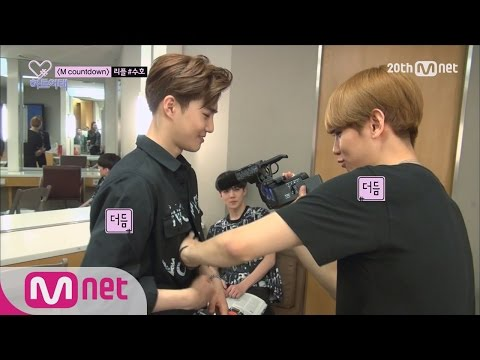 BAEK HYUN of EXO Attacks SUHO's Abs! [Heart_a_tag] ep.02 EXO 백현의 수호 복근 습격기! 하트어택 2화