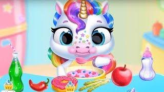 Fun New Born Pony Care Kids Game 🤗 My Baby Unicorn ⭐️ Cute Rainbow Pet Care & Dress Up 可愛小馬遊戲 LULUTV