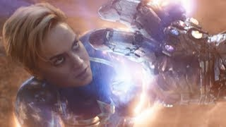 Avengers Endgame / Captain Marvel vs Thanos Scene