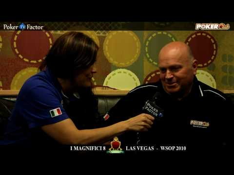 WSOP 2010 - MAGNIFICI 8 di Poker Club by LOTTOMATICA a Las Vegas Day 5 - Pokerfactor TV