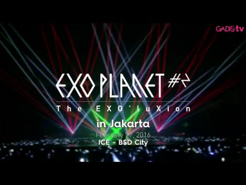 EXO Planet #2 – The EXO'luXion in Jakarta