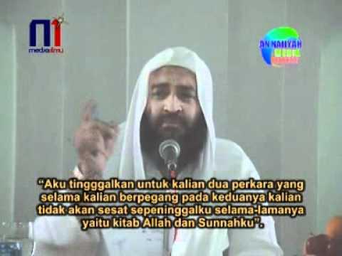 Syaikh Ali Hasan - Manhaj Dakwah Para Nabi 7/9