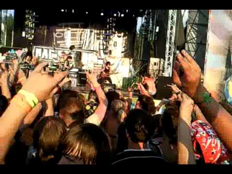НАШЕСТВИЕ 2010: Слот - Flash Mob (ошибка звукотехников)