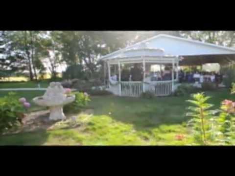 Blooms of Love Outdoor Garden Wedding Ceremony Venue Rochester MN