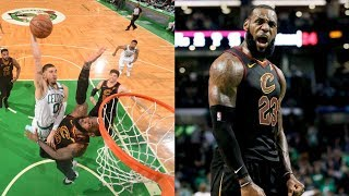 Tatum Dunks on LeBron! Cavs Advance to Finals! 2018 NBA Playoffs