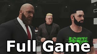 WWE 2K19 My Career Mode Full Game Walkthrough Part 1 - Longplay No Commentary (PS4)