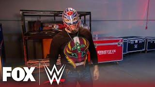 Rey Mysterio attacks Brock Lesnar, demands title match at Survivor Series | MONDAY NIGHT RAW