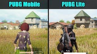PUBG Mobile vs PUBG Lite PC (Graphics & FPS Comparison)