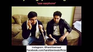 *use earphone* Haryanvi guys ordering food. | Harsh Beniwal