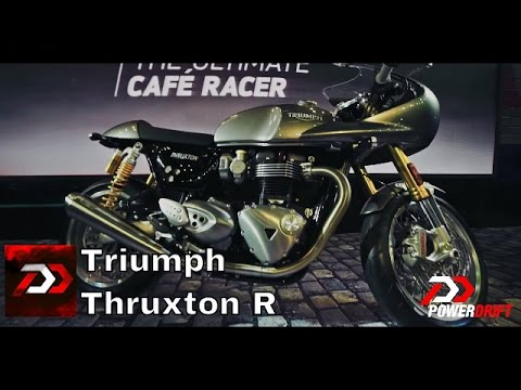 2016 Triumph Thruxton R : First Impressions : PowerDrift