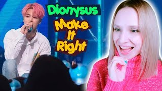 BTS - DIONYSUS + MAKE IT RIGHT REACTION/РЕАКЦИЯ | KPOP ARI RANG
