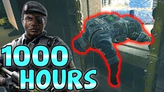 What 1000 HOURS of CAPITAO Experience Looks Like - Rainbow Six Siege