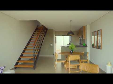 Casa em condominio com parede monolitica de concreto