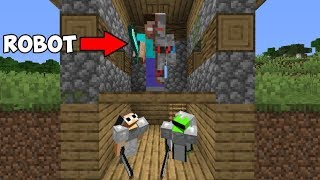 2 Minecraft Speedrunners VS Terminator