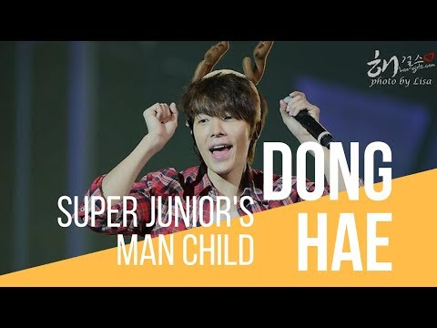 Lee Donghae: Super Junior's man child