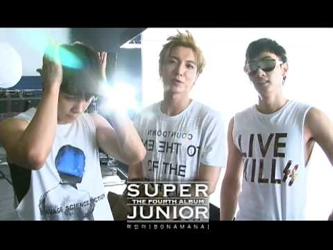 SUPER JUNIOR 슈퍼주니어 '미인아 (Bonamana)' MV Making Film