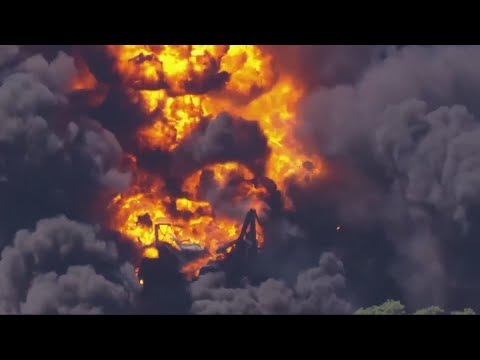 Massive fire at chemical plant prompts evacuations in Rockton; No injuries reported