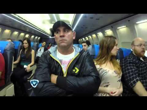 Showmatch 2014 - IMPERDIBLE: La Mole Moli sufrió #ElPeorvuelodeTuvida