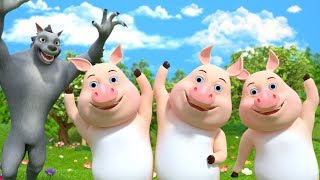 Three Little Pigs | Nursery Rhymes for Children | Stories for Babies by Little Treehouse