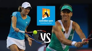 Henin vs Dementieva | 2010 Australian Open Highlights