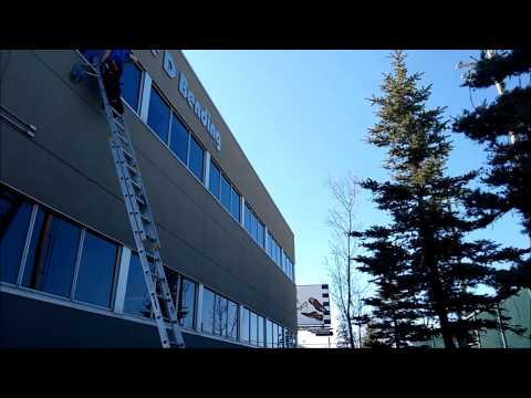 Window cleaning timelapse - Calgary, AB
