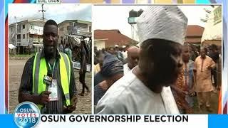 Osun governorship election: Ayodeji Moradeyo giving updates from Ede