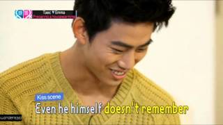 130609 2PM Taecyeon calls miss A Suzy ENG subbed WGM (Global) E10 + making film cuts