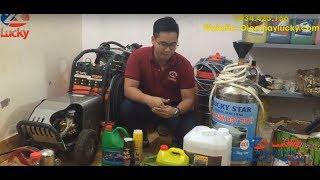 Review Bộ thiết bị rửa xe Ô-tô, xe máy đón 10-20 xe/ngày CỰC TIẾT KIỆM tại Lucky
